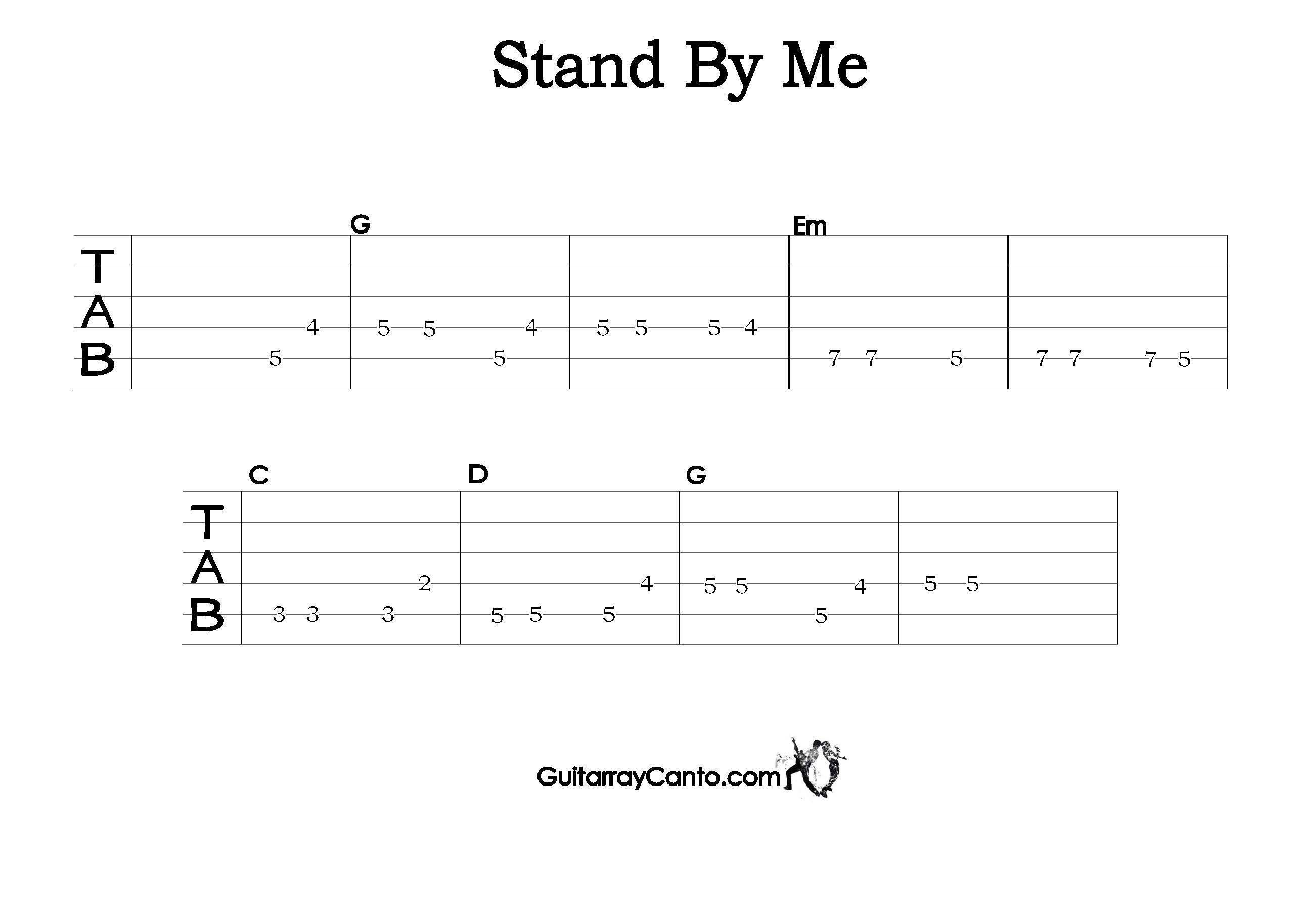 stand by me tab